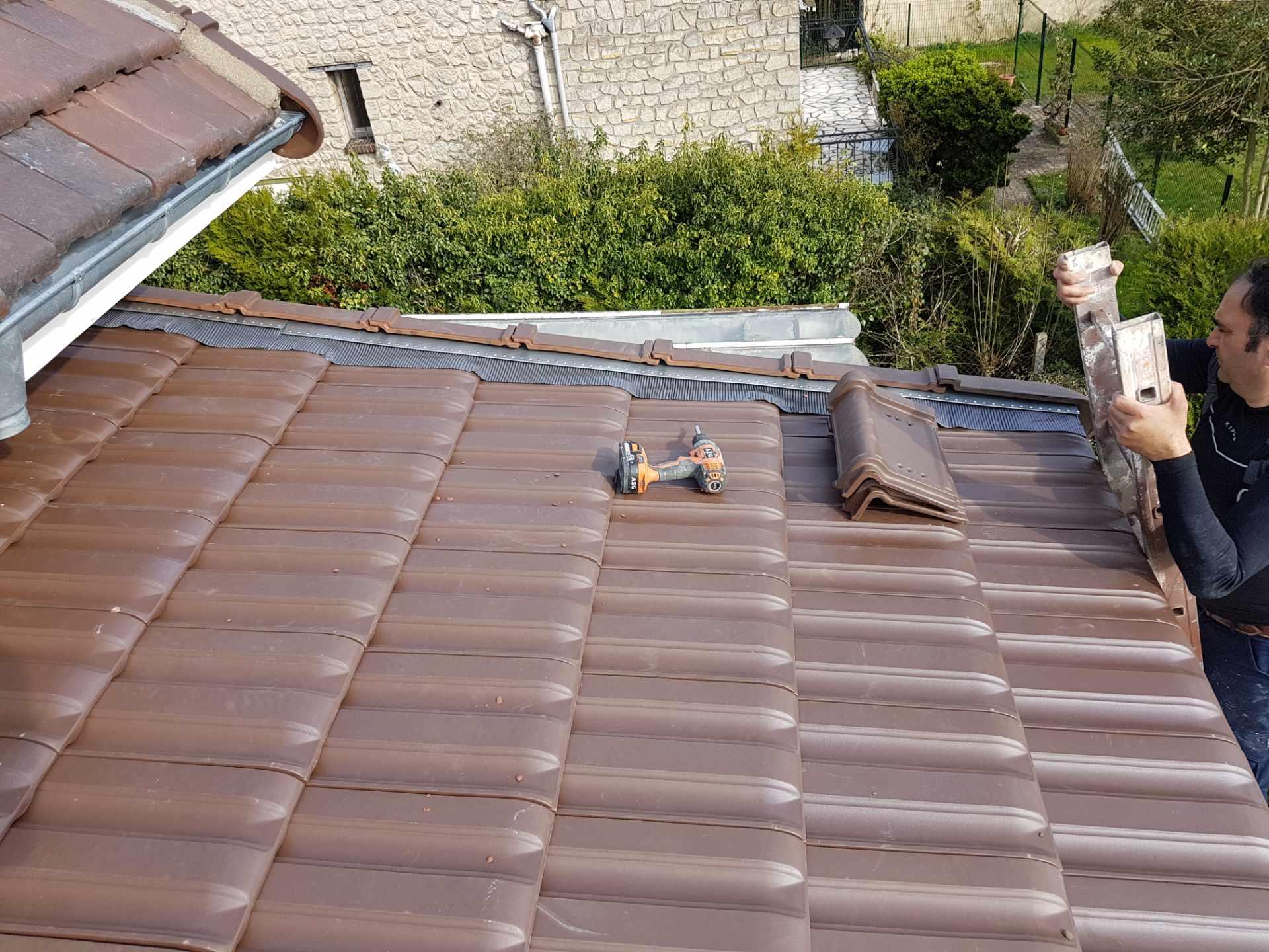réparation de toiture artisan couvreur