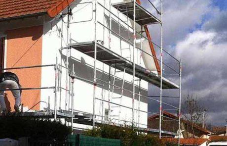 Ravalement façade maison hortica couvreur